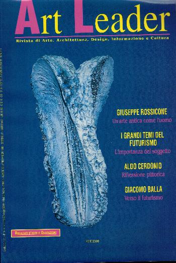 Art Leader Anno 8 Numero 38 Aprile Maggio 1998, AA.VV.