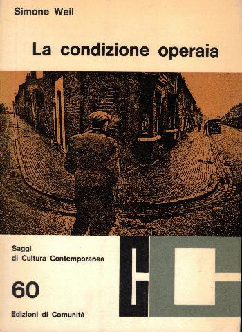 La condizione operaia, Simone Weil