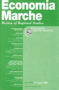 Economia Marche Fondazione Aristide Merloni. Anno XXV n.1 aprile 2006, AA. VV.