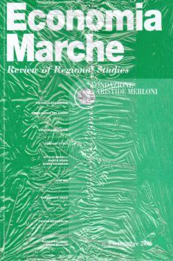 Economia Marche Fondazione Aristide Merloni. Anno XXIV n.2 settembre 2004, AA. VV.