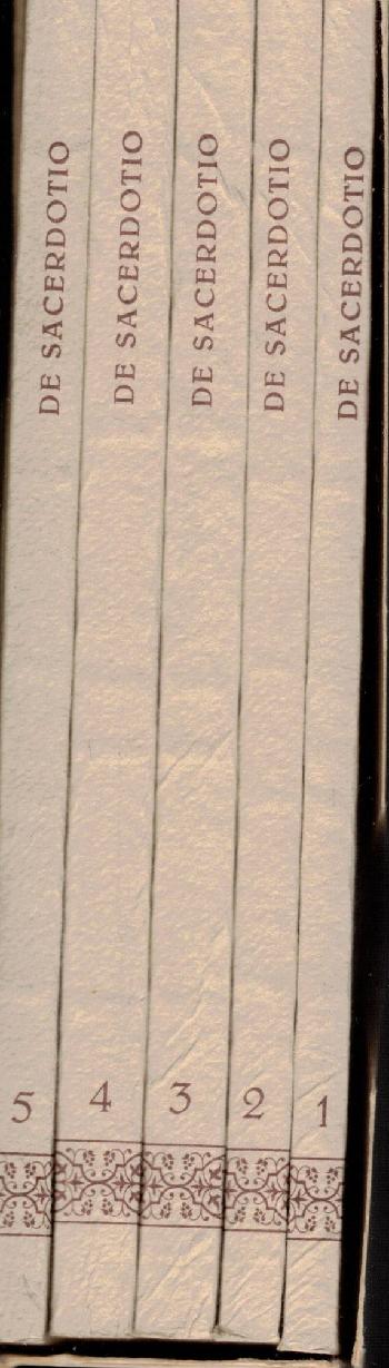 De Sacerdotio Vol 1-5, AA.VV.