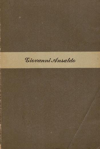 Il ministro della buona vita, Giovanni Ansaldo