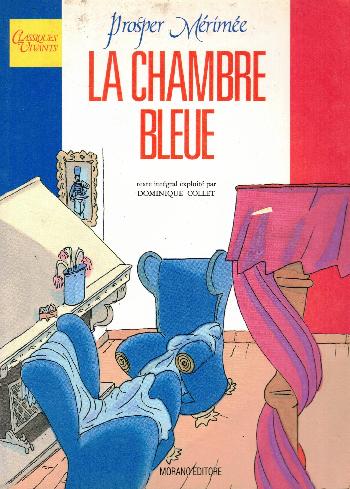 La chambre bleue, Prosper Mérimée