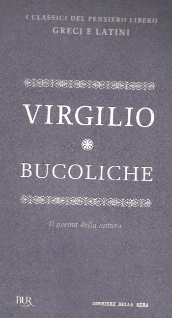 Bucoliche, Virgilio