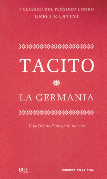 La Germania, Tacito