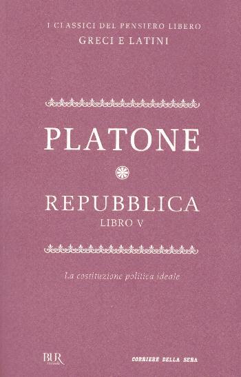 Repubblica Libro V, Platone