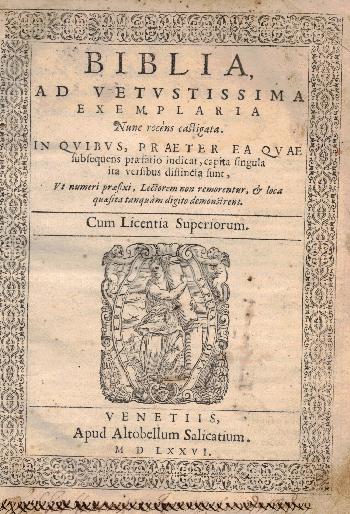 La Bibbia, AA.VV.