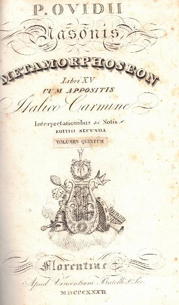 Metamorphoseon Libri XV, Ovidio