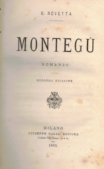 Montegù, G. Rovetta