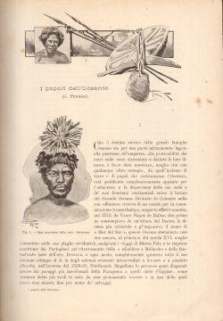 Popoli del Mondo. Oceania, Alberti, Brunialti,  et al.