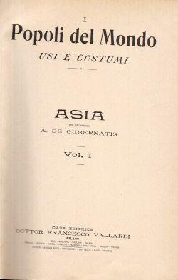 Popoli del Mondo usi e costumi. Vol I e II, Alberti, Brunialti,  et al.