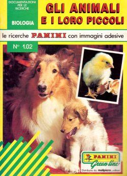 Le ricerche Panini con immagini adesive. N. 1.02 Gli animali e i loro piccoli, AA. VV.