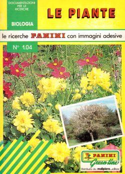 Le ricerche Panini con immagini adesive. N. 1.04 Le Piante, Bernadette Bornancin