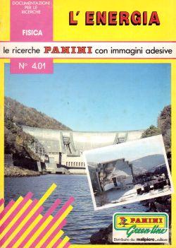 Le ricerche Panini con immagini adesive. N. 4.01 L'Energia, Gerard Laporte