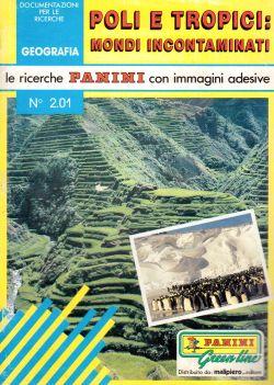 Le ricerche Panini con immagini adesive. N. 2.01Poli e Tropici: mondi incontaminati, André Ripart