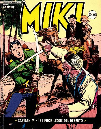 Capitan Miki e i fuorilegge del deserto N17, AA.VV.