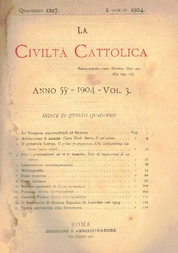 La Civiltà Cattolica. Anno 55, quaderno 1297, AA.VV.