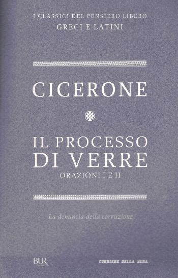 Il processo di vivere Orazioni I-II, Cicerone