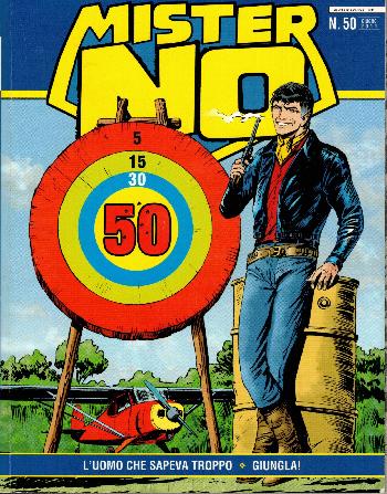 Mister No N50, AA.VV.