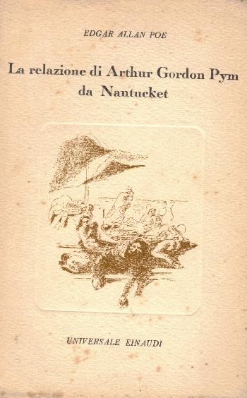 La relazione di Arthur Gordon Pym da Nantucket,  Edgar Allan Poe