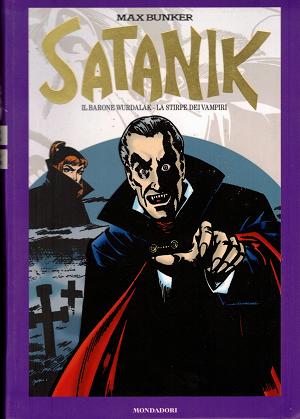 Satanik, Il barone Wurdalak – La stirpe dei vampiri, Max Bunker