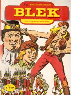 Blek n. 1, Vol. I, serie I, EsseGesse