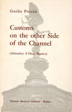 Customs on the other Side of the Channel (Abitudini d'Oltre Manica), Guido Puccio