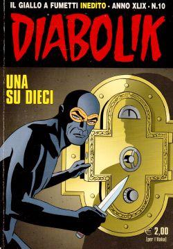 Diabolik Inedito n. 10, Una su dieci, A. e L. Giussani, S. Zaniboni, E. Facciolo
