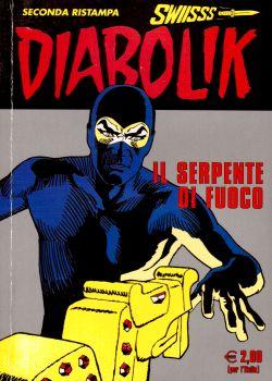 Diabolik n. 188, Il serpente di fuoco, A. e L. Giussani, S. Zaniboni, E. Facciolo