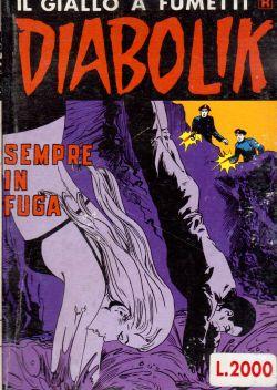 Diabolik n. 261, Sempre in fuga, A. e L. Giussani, S. Zaniboni, E. Facciolo