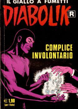 Diabolik n. 541, Complice involontario, A. e L. Giussani, S. Zaniboni, E. Facciolo
