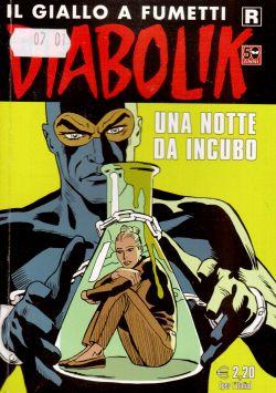 Diabolik n. 607, Una notte da incubo, A. e L. Giussani, S. Zaniboni, E. Facciolo