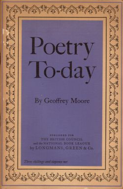 Poetry To-day, Geoffrey Moore