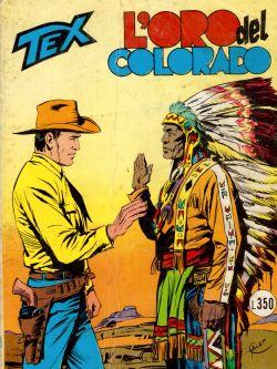 Tex n. 201 L'ora del Colorado, Gialuigi Bonelli, Aurelio Galleppini
