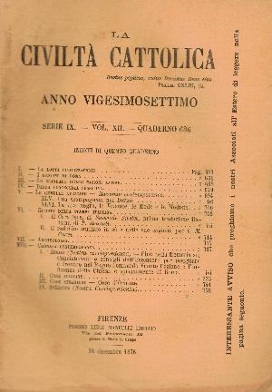 La Civiltà Cattolica. Anno 27, quaderno 636, AA.VV.
