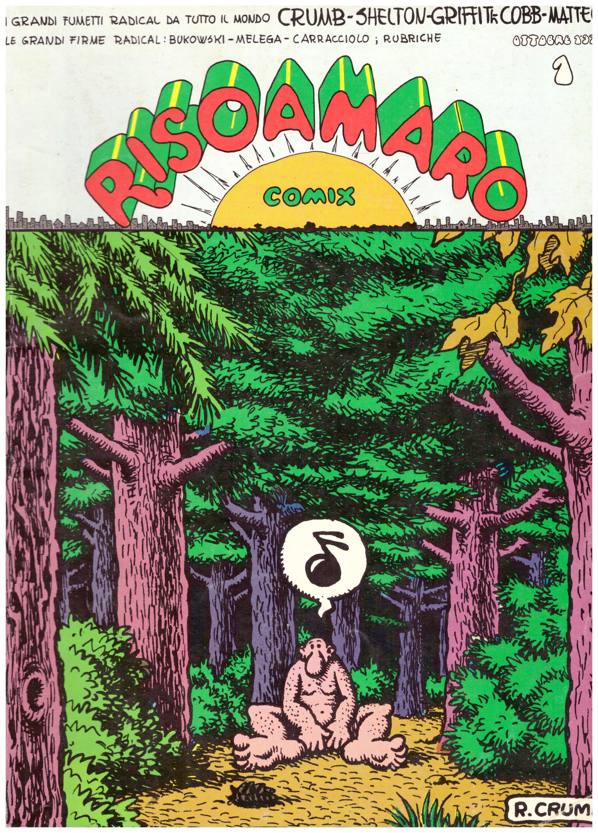 Titolo: Risoamaro Comix Autore: R. Crumb  Editore: Comix