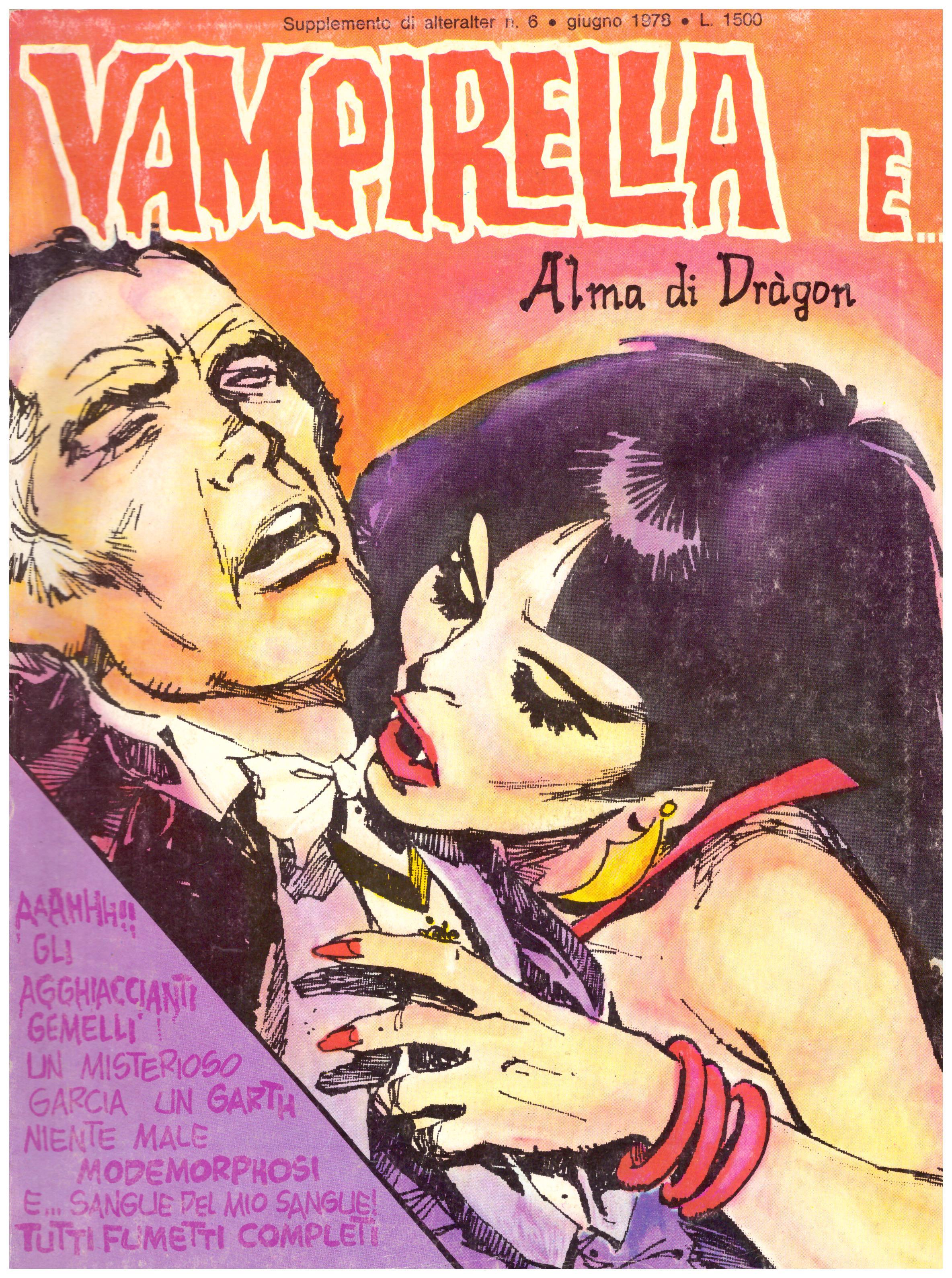 Titolo: Vampirella e alma di dragon Autore: AA.VV.  Editore: ALTERALTER 1978