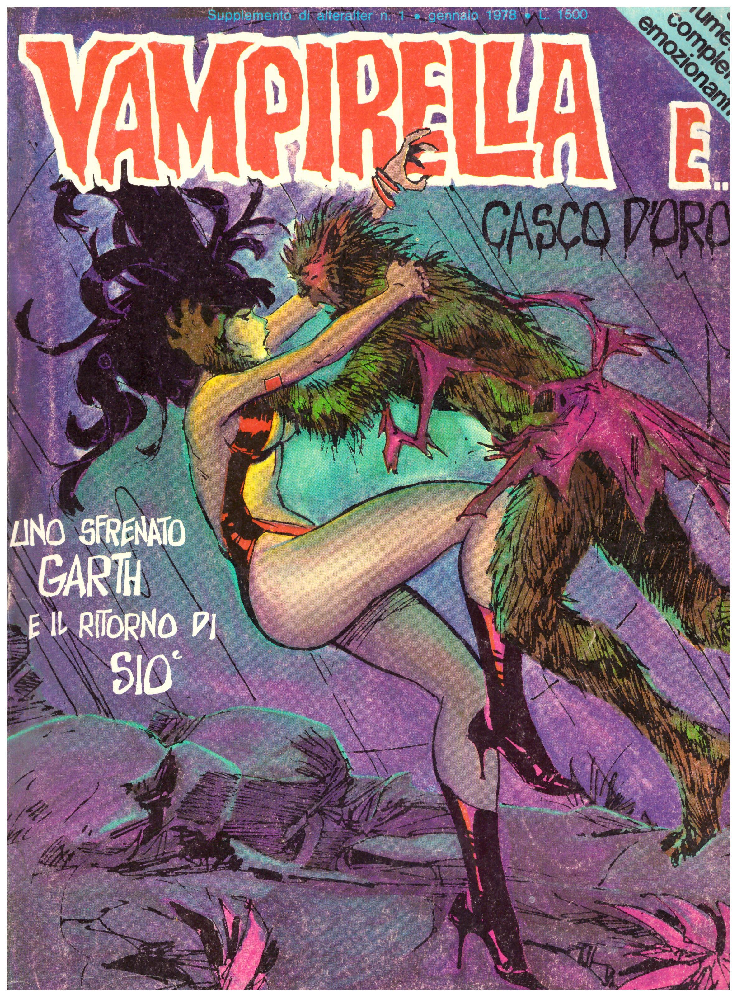 Titolo: Vampirella e casco d'oro Autore: AA.VV. Editore: ALTERALTER 1978