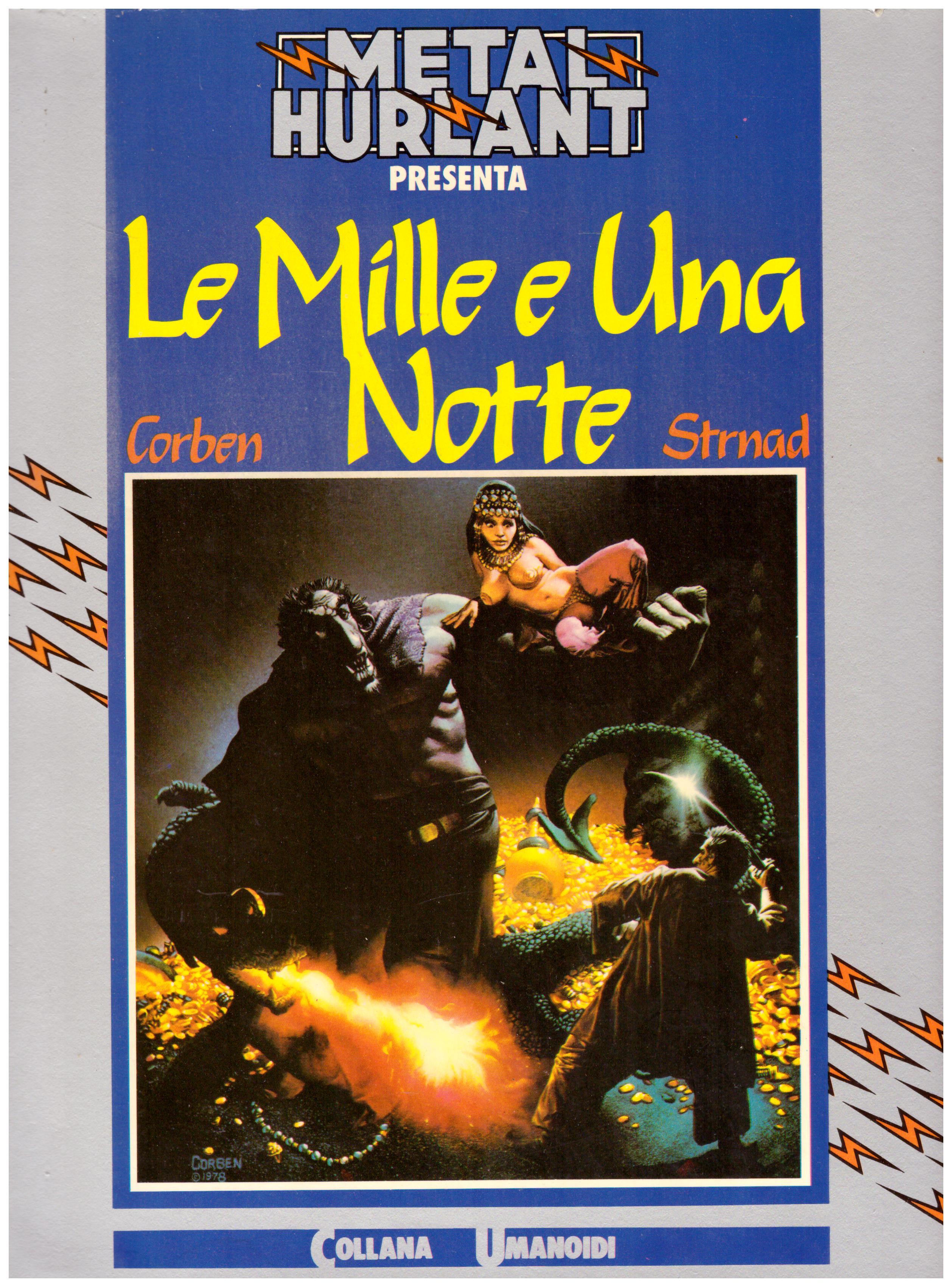 Titolo: collana umanoidi, Le mille e una notte Autore: AA.VV.  Editore: Nuova frontiera, 1982
