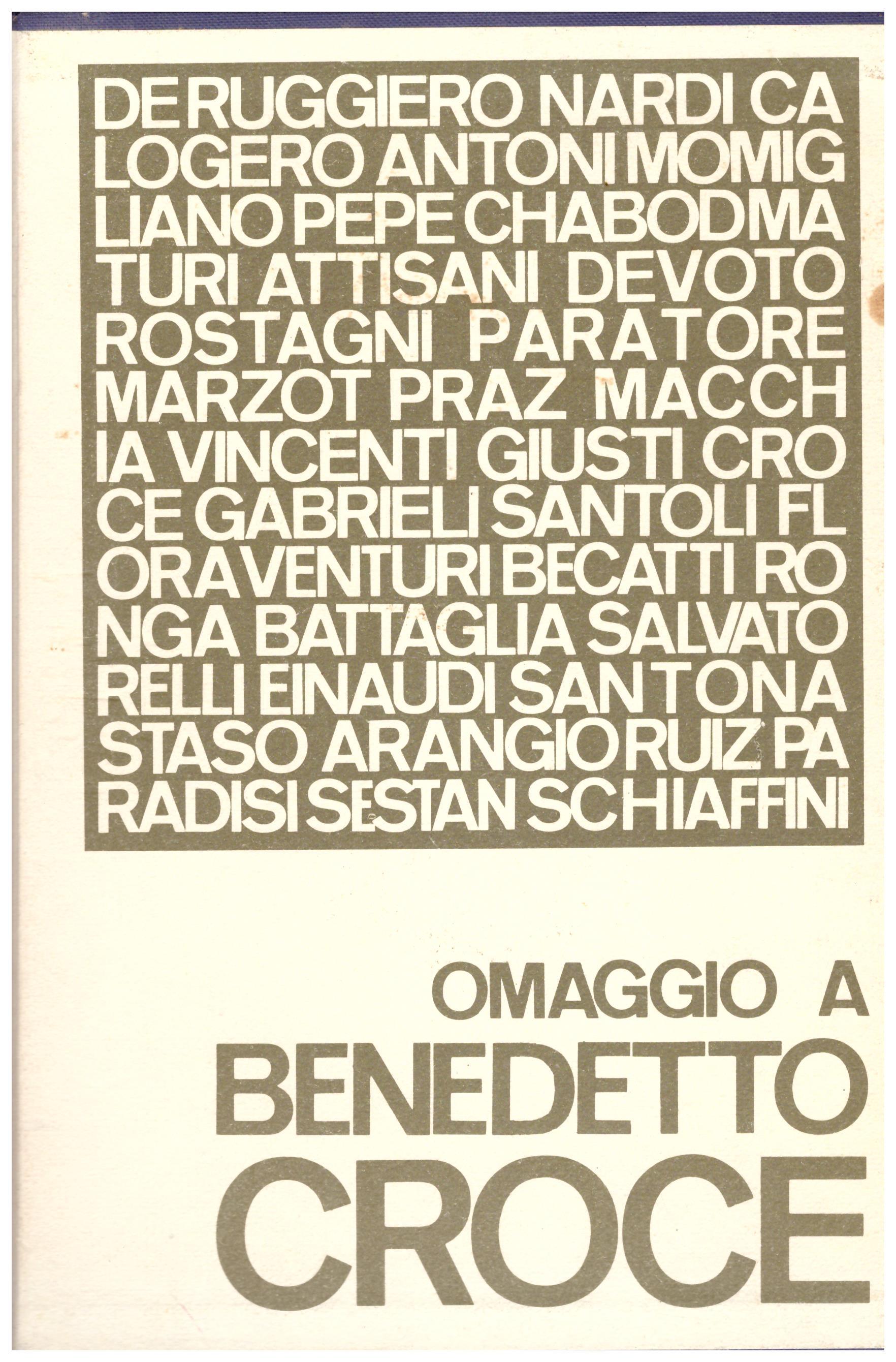 Titolo: 50 Anni di vita intellettuale italiana Omaggio a Benedetto Croce in 2 volumi Autore: Guido De Ruggiero, Bruno Nardi, Carlo Antoni, Giacomo Devoto, Mario Praz, Francesco Flo