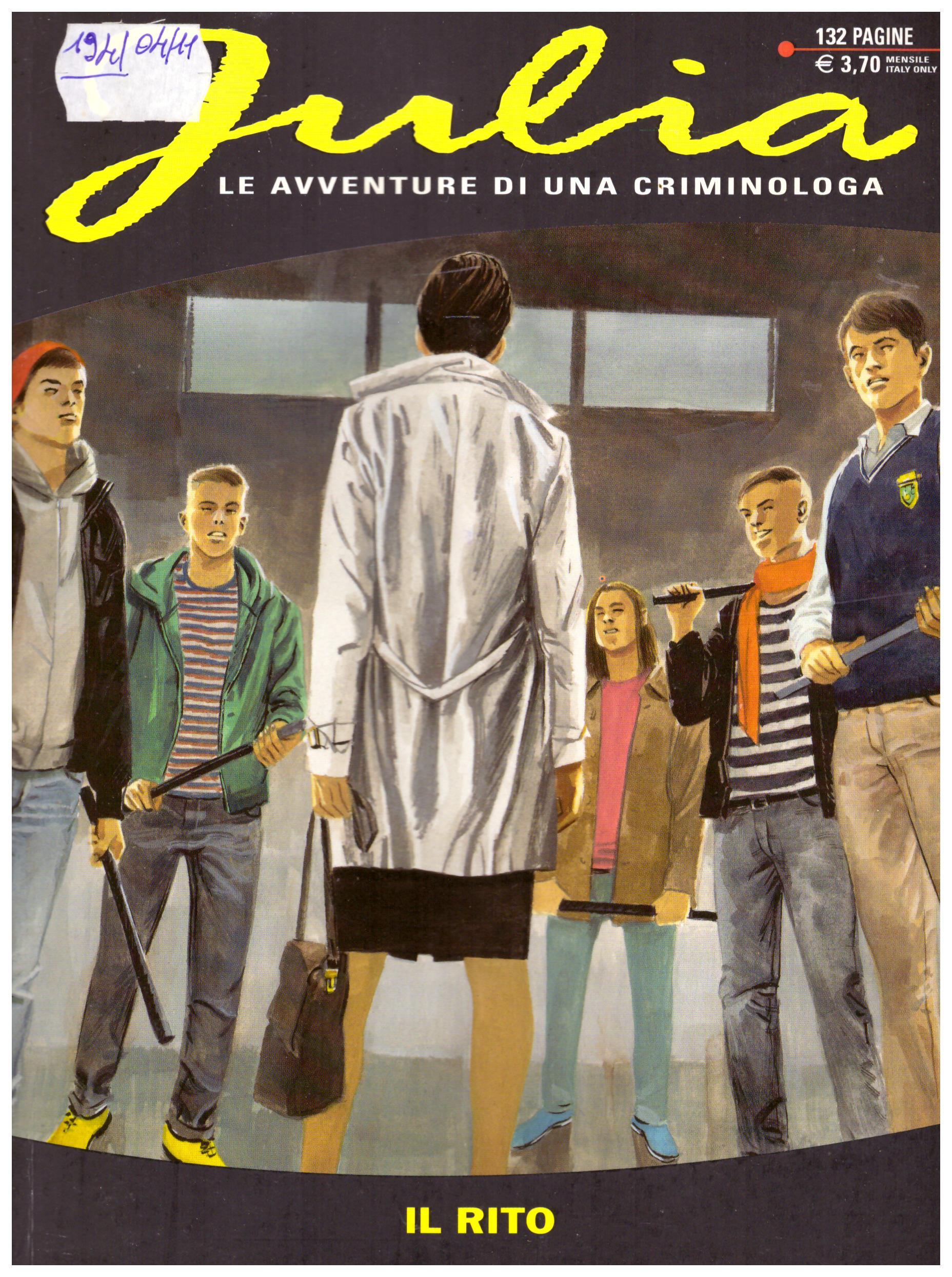 Titolo: Julia n.194 Autore: AA.VV.  Editore: sergio bonelli editore, 2014