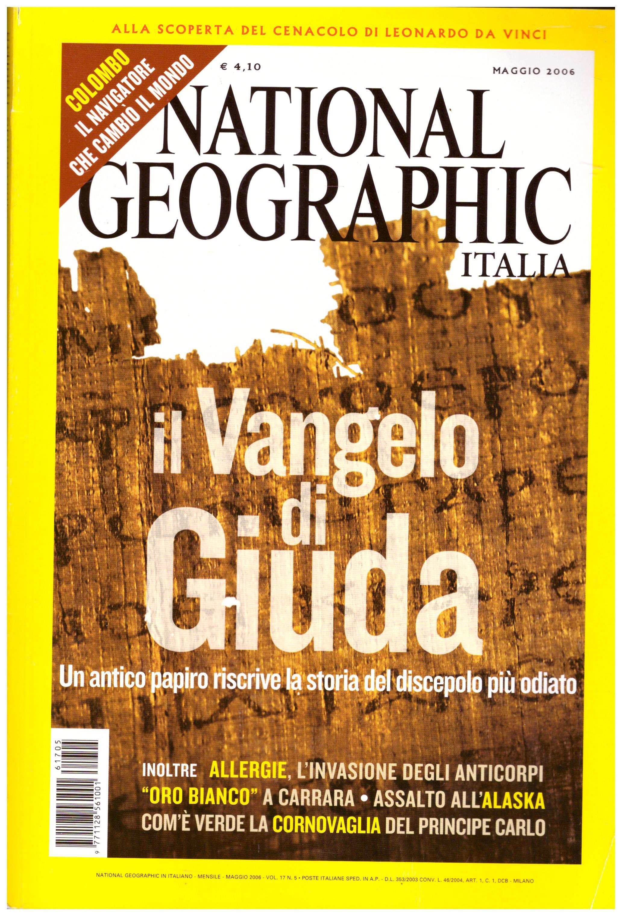 Titolo: National Geographic Italia  maggio 2006  Autore: AA.VV.  Editore: RBA italia