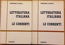 LETTERATURA ITALIANA (MARZORATI) - LE CORRENTI (2 vol.), AA.VV.