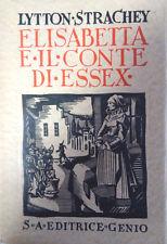 ELISABETTA E IL CONTE DI ESSEX, STRACHEY LYTTON