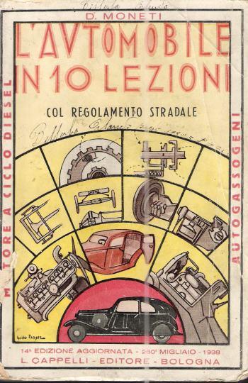L'AUTOMOBILE IN 10 LEZIONI, MONETI D.