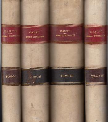 Storia universale (12 tomi + Documenti + Cronologia) - Cesare Cantù