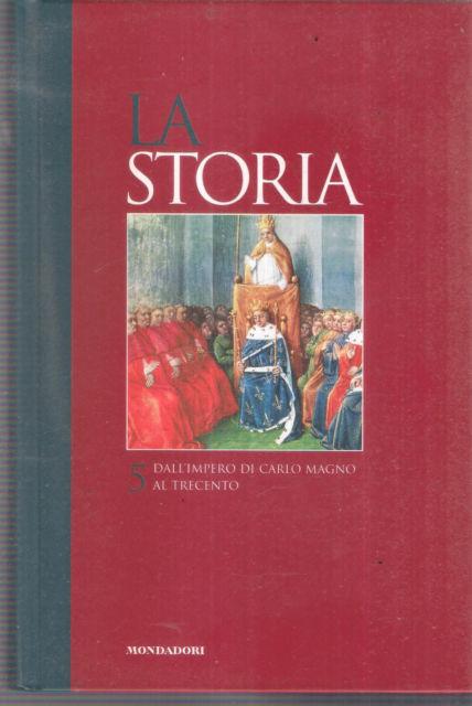 Titolo: La storia 5    Autore: AA.VV.     Editore:  Mondadori