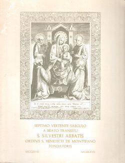 Septimo Vertente Saeculo a Beato Transitu S. Silvestri Abbatis ordinis S. Benedicti de Montefano Fundatoris, Giuseppina Corinaldesi