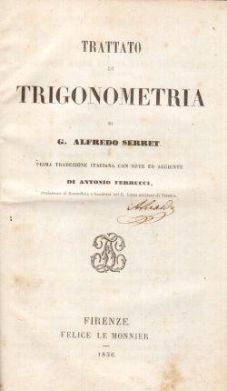 Trattato di Trigonometria, G. Alfredo Serret