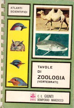 Tavole di Zoologia (vertebrati), AA. VV.